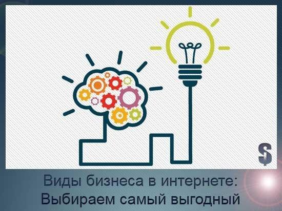 Актуальные и очень выгодные идеи интернет-бизнеса