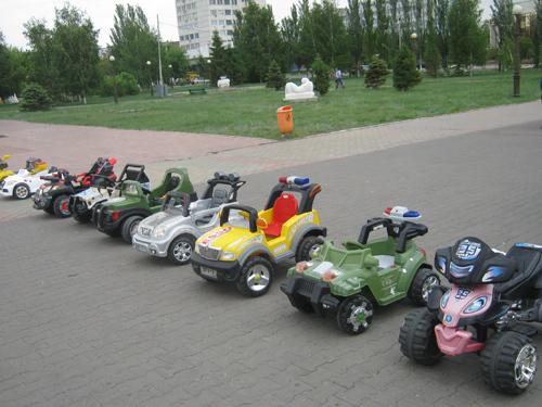 Прокат электро-машинок и электро-мотоциклов для детей как бизнес