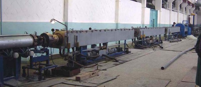 Производство пластиковых труб: технология, оборудование (линия)