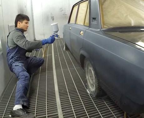 Покраска авто жидкой резиной как бизнес