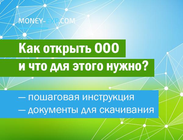 Как открыть ООО в России: пошаговая инструкция - с чего начать, что нужно, важные нюансы