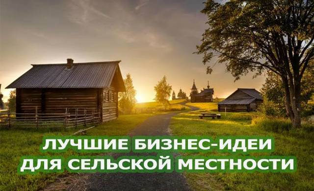 Бизнес идеи в сельской местности: ТОП 10